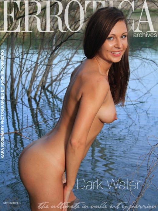 Kara Rosemary - `Dark Water` - by John Bloomberg for ERROTICA-ARCHIVES