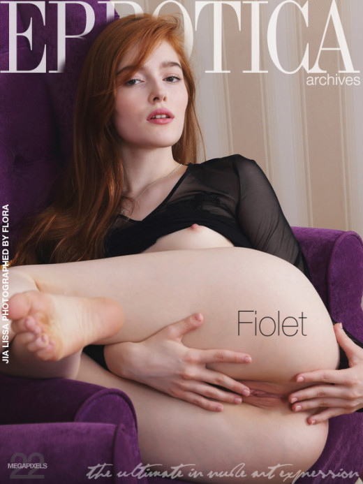 Jia Lissa in Fiolet gallery from ERROTICA-ARCHIVES by Flora