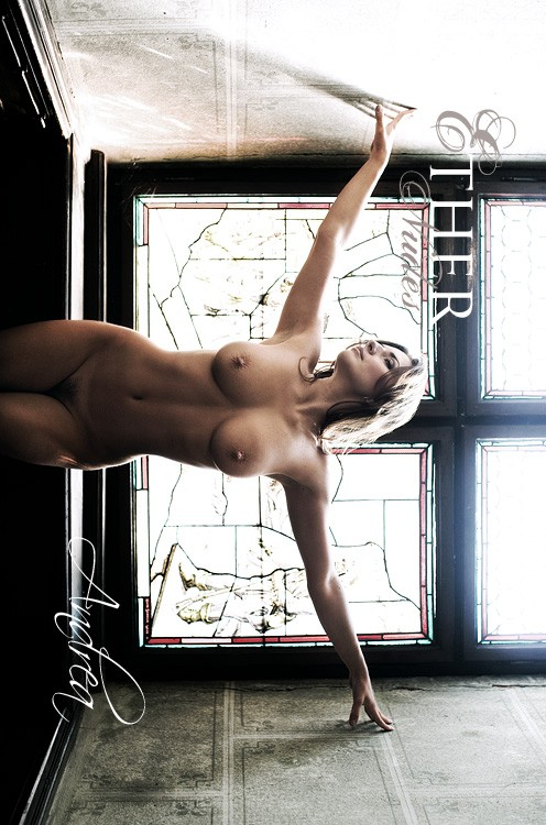 Andrea - `Light from Above` - by Olivier De Rycke for ETHERNUDES