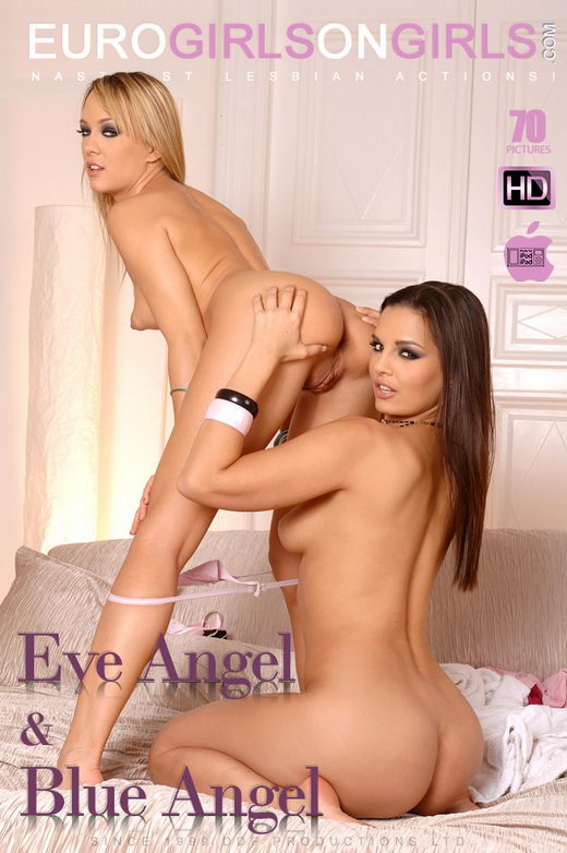 Eve Angel & Blue Angel - `Sudden Sex!` - for EUROGIRLSONGIRLS