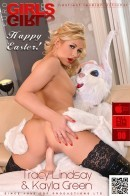 Tracy Lindsay & Kayla Green - Bunny Meets Babe!