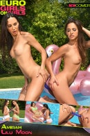 Lilu Moon & Amirah in Double Dong Fun In The Sun gallery from EUROGIRLSONGIRLS