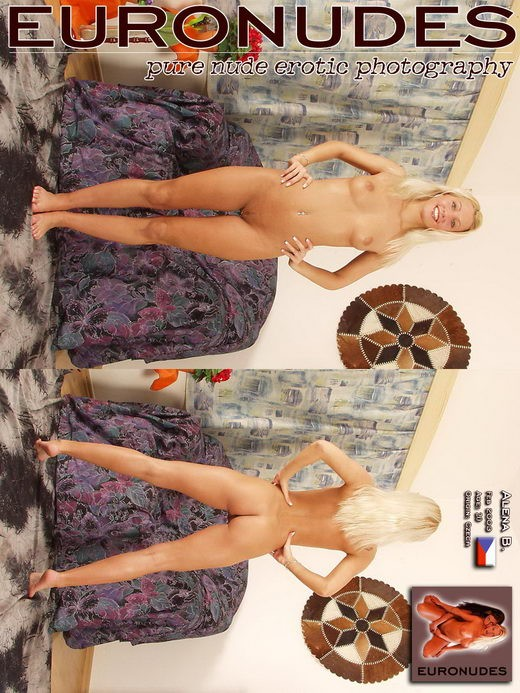 Alena B in Model Cover gallery from EURONUDES ARCHIVES