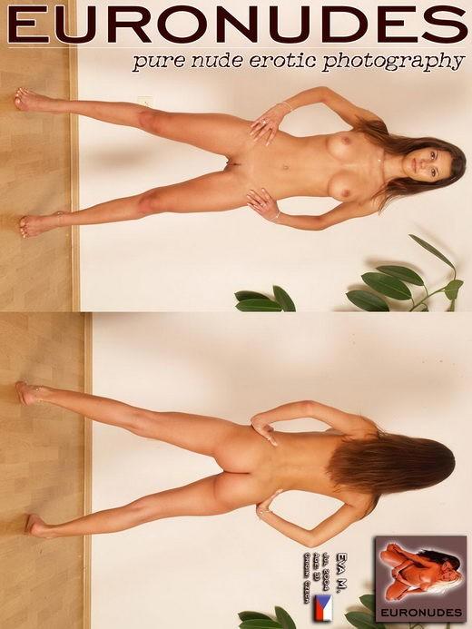 Eva M - `Model Cover` - for EURONUDES ARCHIVES