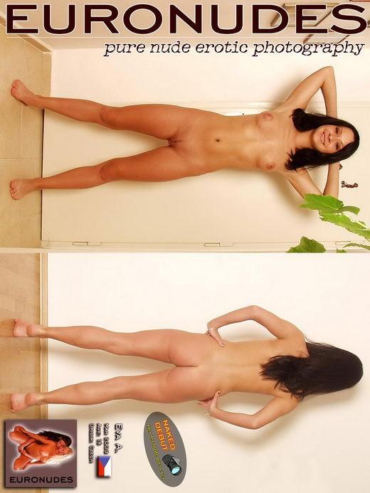 Eva A - `Model Cover` - for EURONUDES ARCHIVES