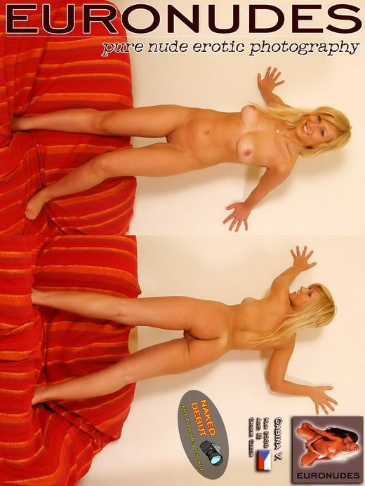 Gabina V - `Model Cover` - for EURONUDES ARCHIVES