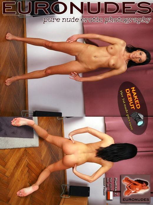 Marika Z - `Model Page` - for EURONUDES ARCHIVES