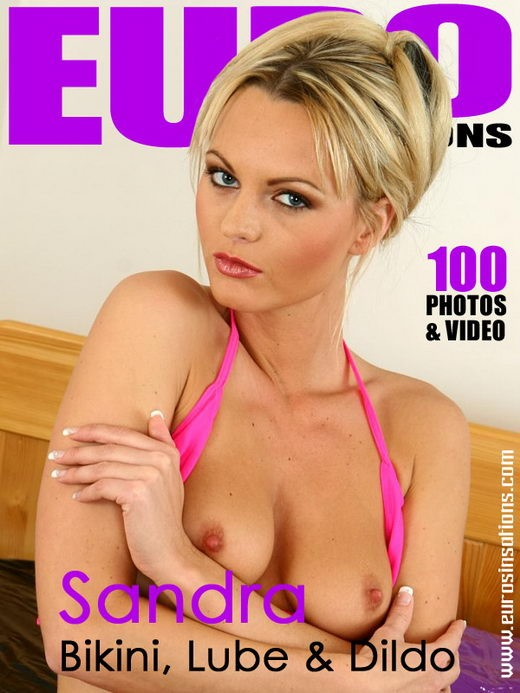 Sandra S - `Bikini, Lube & Dildo` - for EUROSINSATIONS