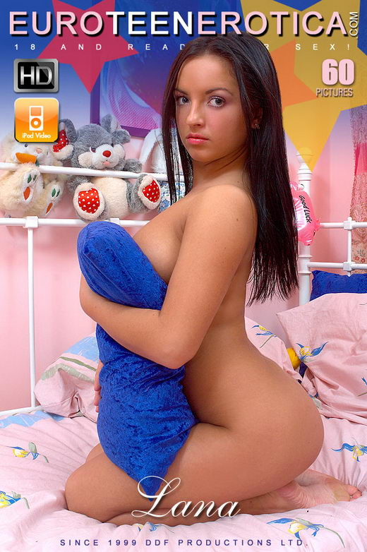 Lana - `Teddybear Gets A Taste Of The Tart` - for EUROTEENEROTICA