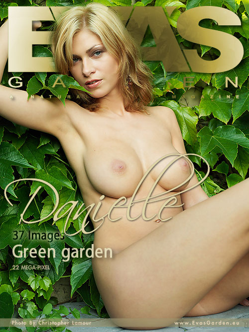 Danielle - `Green Garden` - by Christopher Lamour for EVASGARDEN