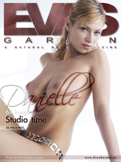 Danielle - `Studio Time` - by Christopher Lamour for EVASGARDEN