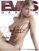 Danielle in Studio Time gallery from EVASGARDEN by Christopher Lamour