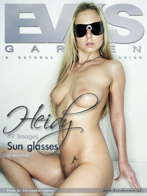 Heidy - `Sun Glasses` - by Christopher Lamour for EVASGARDEN