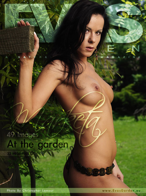 Marketa - `At The Garden` - by Christopher Lamour for EVASGARDEN
