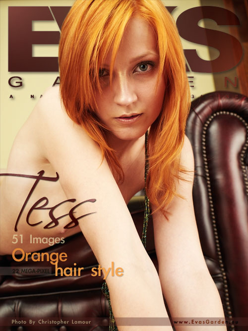 Tess - `Orange Hair Style` - by Christopher Lamour for EVASGARDEN