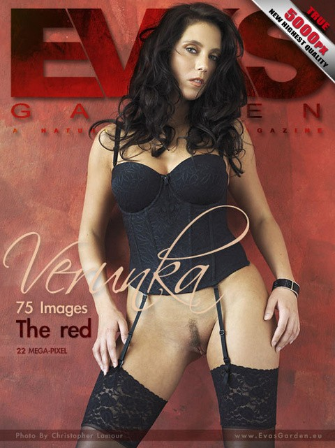 Verunka - `The Red` - by Christopher Lamour for EVASGARDEN