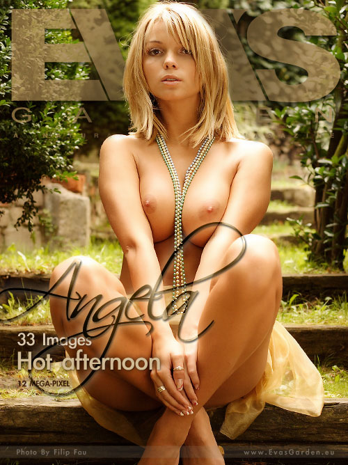 Angela - `Hot Afternoon` - by Filip Fau for EVASGARDEN