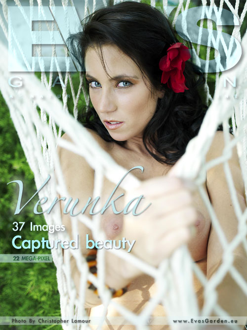 Verunka - `Captured Beauty` - by Christopher Lamour for EVASGARDEN