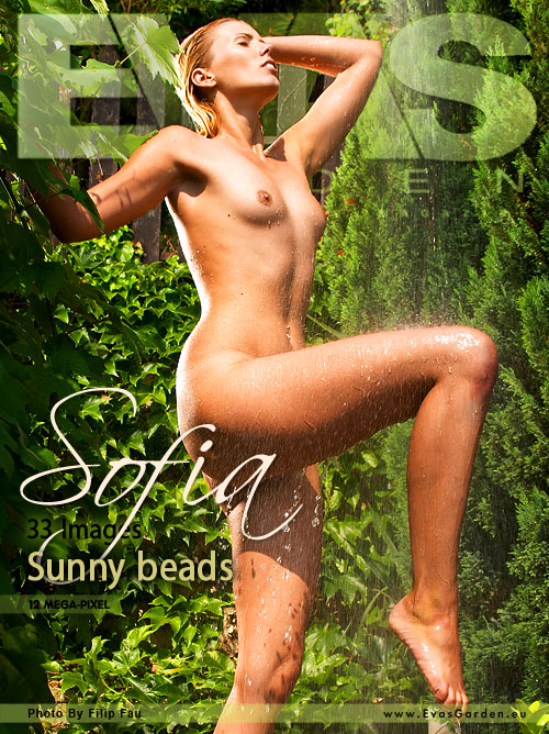 Sofia - `Sunny Beads` - by Filip Fau for EVASGARDEN
