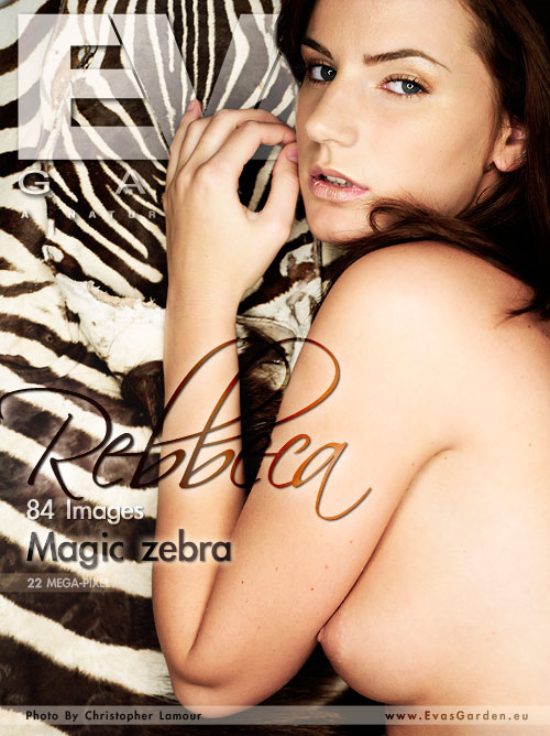 Rebbeca - `Magic Zebra` - by Christopher Lamour for EVASGARDEN