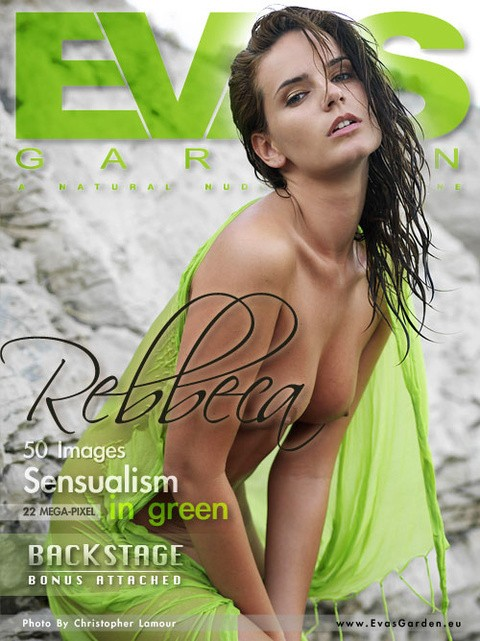 Rebbeca - `Sensualism In Green` - by Christopher Lamour for EVASGARDEN