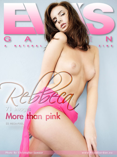 Rebbeca - `More Than Pink` - by Christopher Lamour for EVASGARDEN