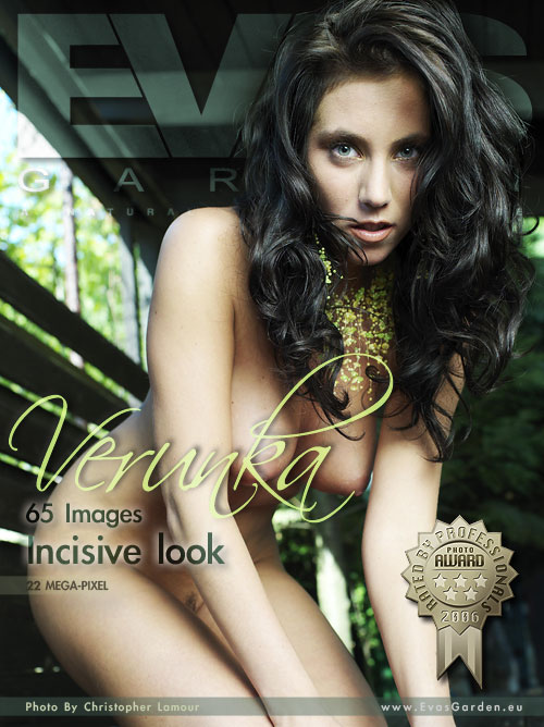 Verunka - `Incisive Look` - by Christopher Lamour for EVASGARDEN