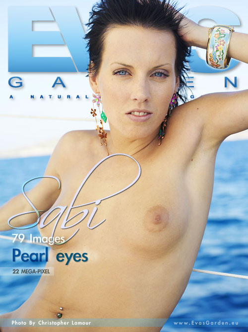 Sabi - `Pearl Eyes` - by Christopher Lamour for EVASGARDEN