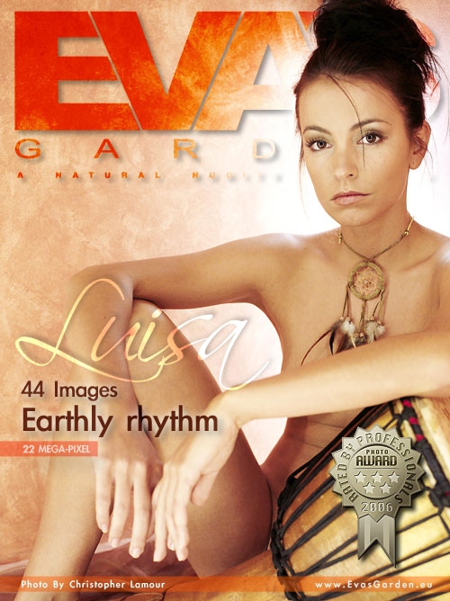 Luisa - `Earthly Rhythm` - by Christopher Lamour for EVASGARDEN