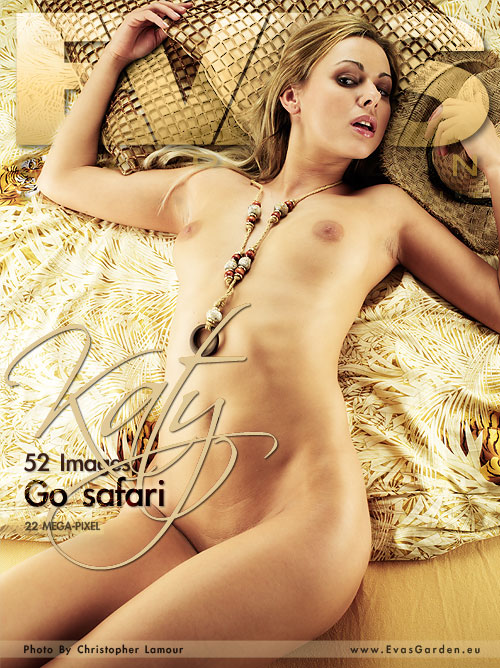 Katy - `Go Safari` - by Christopher Lamour for EVASGARDEN