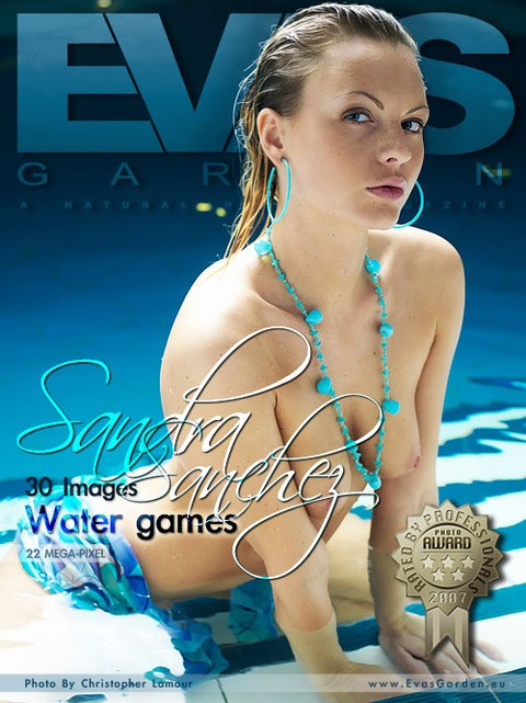 Sandra Sanchez - `Water Games` - by Christopher Lamour for EVASGARDEN