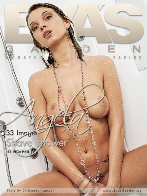 Angela - `Shave Shower` - by Christopher Lamour for EVASGARDEN