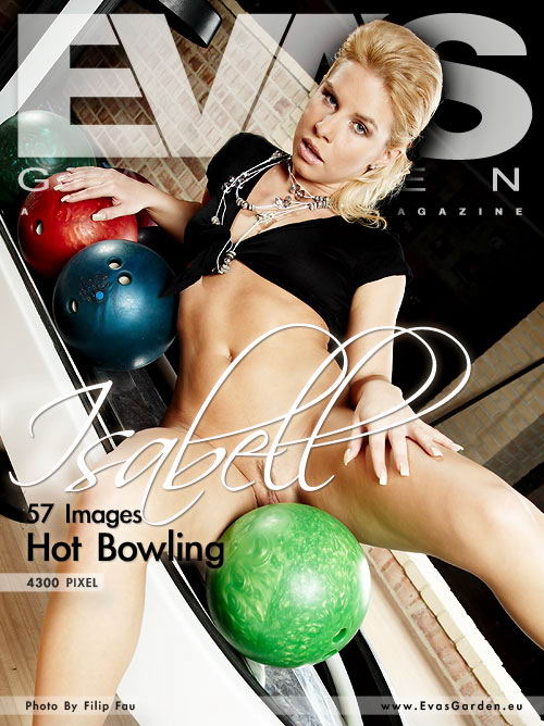 Isabell - `Hot Bowling` - by Filip Fau for EVASGARDEN