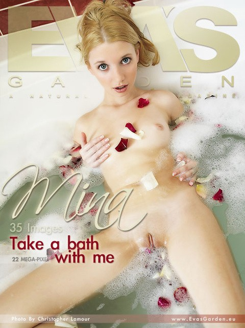 Mina - `Take A Bath With Me` - by Christopher Lamour for EVASGARDEN