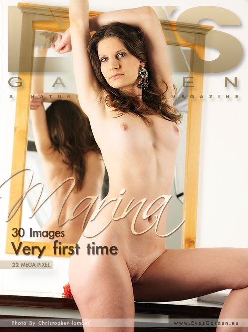 Marina - `Very First Time` - by Christopher Lamour for EVASGARDEN