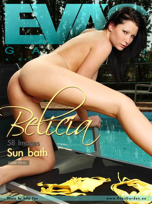Belicia - `Sun Bath` - by Filip Fau for EVASGARDEN