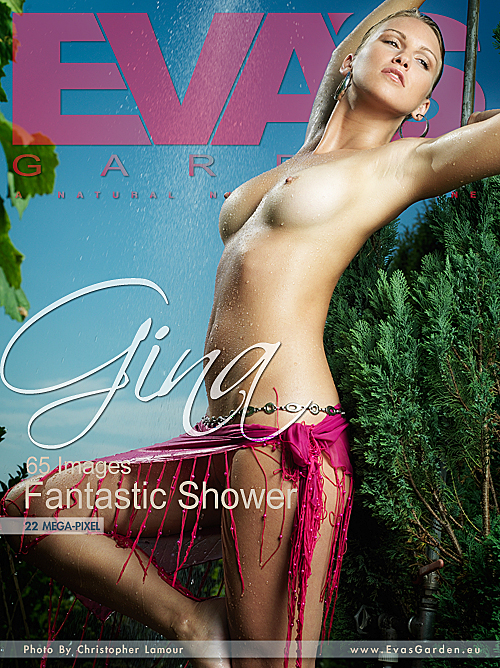 Gina - `Fantastic Shower` - by Christopher Lamour for EVASGARDEN
