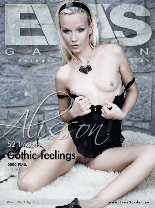 Alisson - `Gothic Feelings` - by Filip Fau for EVASGARDEN