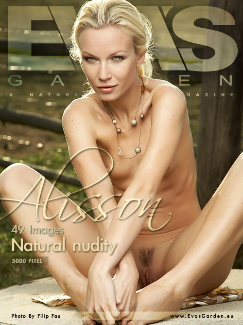 Alisson - `Natural Nudity` - by Filip Fau for EVASGARDEN