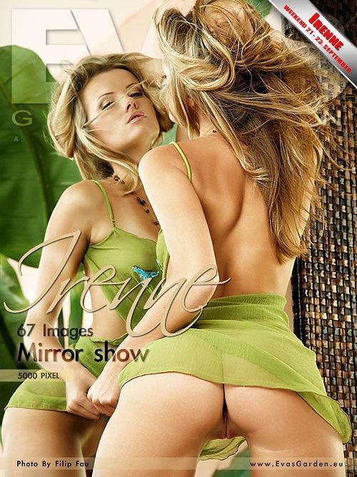 Irenne in Mirror Show gallery from EVASGARDEN by Filip Fau