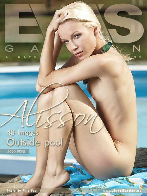 Alisson - `Outside Pool` - by Filip Fau for EVASGARDEN