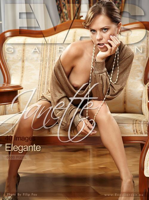 Janette - `Elegante` - by Filip Fau for EVASGARDEN