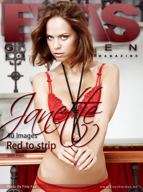 Janette - `Red To Strip` - by Filip Fau for EVASGARDEN