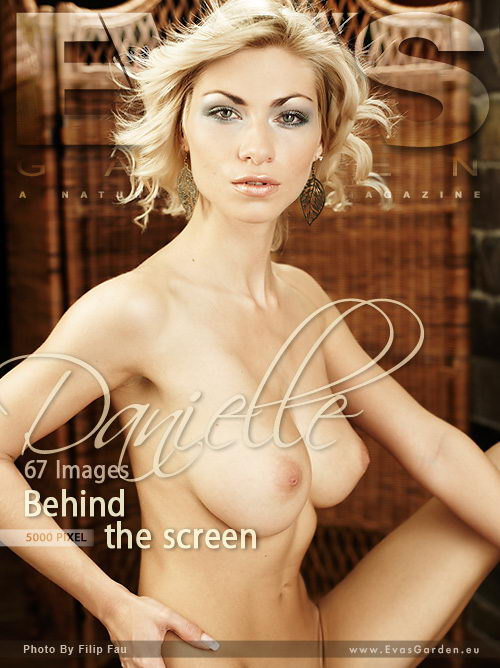 Danielle - `Behind The Screen` - by Filip Fau for EVASGARDEN