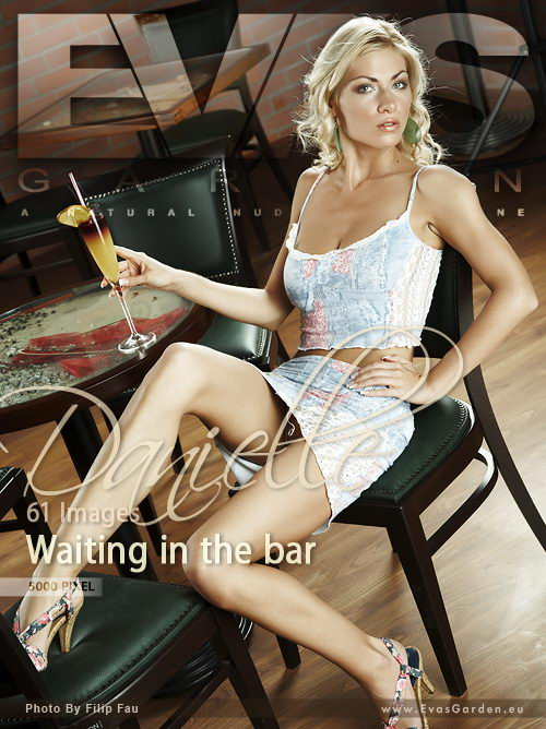Danielle in Waiting In The Bar gallery from EVASGARDEN by Filip Fau