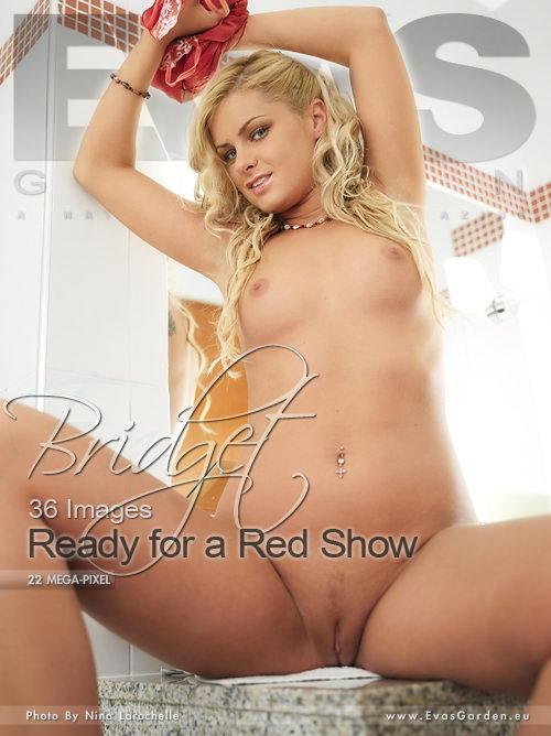 Bridget - `Ready For A Red Show` - by Nina Larochelle for EVASGARDEN