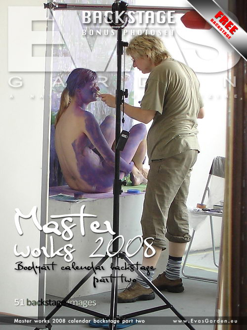 `Master Works 2008 Calendar Backstage Part Two` - for EVASGARDEN