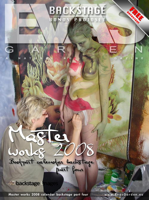 `Master Works 2008 Calendar Backstage Part Four` - for EVASGARDEN
