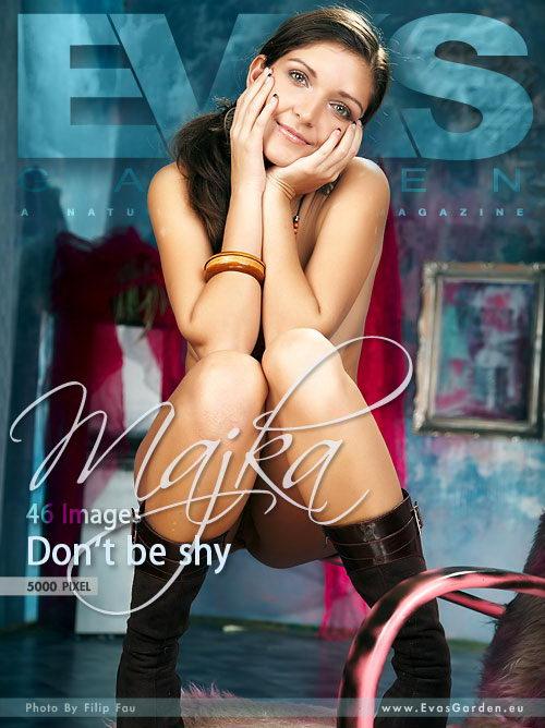 Majka - `Don't Be Shy` - by Filip Fau for EVASGARDEN