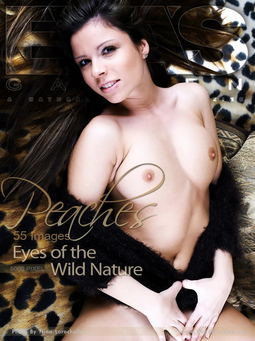Peaches - `Eyes Of The Wild Nature` - by Nina Larochelle for EVASGARDEN